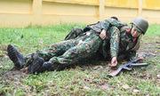 Đội nữ quân y Việt Nam rèn luyện trước hội thao quân sự quốc tế