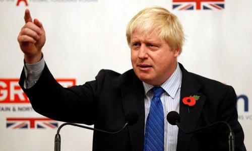 Tân thủ tướng Anh Boris Johnson. Ảnh: Reuters.