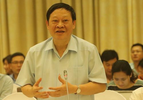 Thứ trưởng Y tế Nguyễn Viết Tiến. Ảnh: Võ Hải