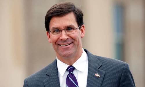 Tân bộ trưởng quốc phòng Mỹ Mark Esper. Ảnh: Reuters.