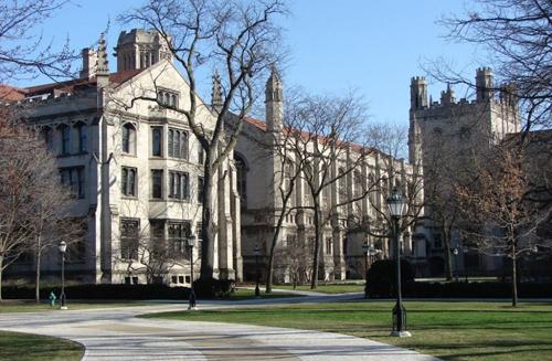 Một góc Đại học Chicago, Mỹ. Ảnh: Thedp