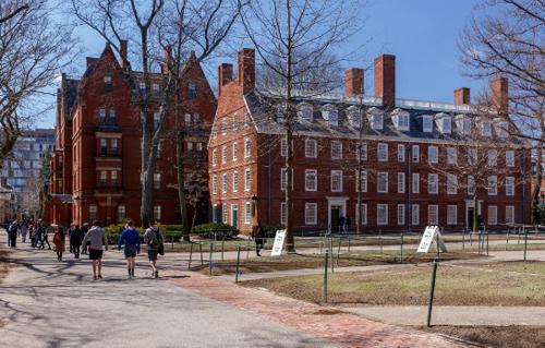 Một góc Đại học Harvard, Mỹ. Ảnh: thefire