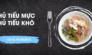 Quán hủ tiếu mực trong hẻm Sài Gòn bán hơn 200 tô mỗi ngày