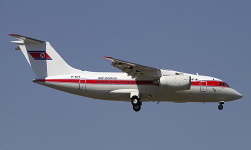 Một máy bay củahàng không quốc gia Triều Tiên Air Koryo. Ảnh: Planespotters.