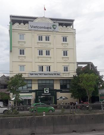 Chi nhánh Nghi Sơn hoạt động trong tòa nhà 5 tầng ở xã Hải Yến. Ảnh: Hữu Đạt