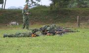 Xạ thủ bắn tỉa Việt Nam tập luyện cho hội thao quân sự quốc tế