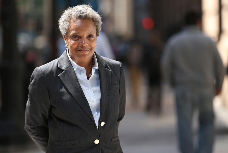 Lori Lightfood, nữ thị trưởng mới nhậm chức của thành phố Chicago.