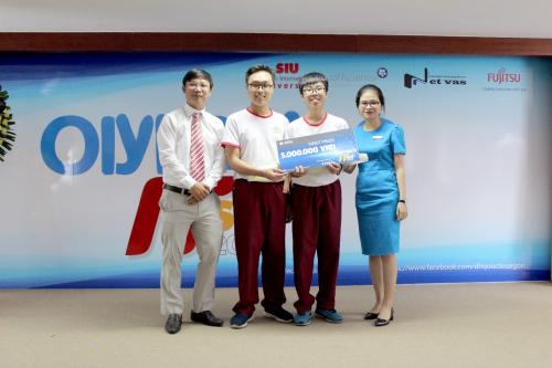 Phần mềm Chuyển hình ảnh sang văn bản giành giải nhất hội thi Olympic Tin học SIU  - 2