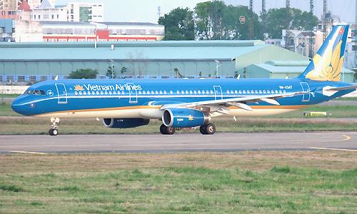 Máy bay Vietnam Airlines. Ảnh minh họa: Anh Duy.