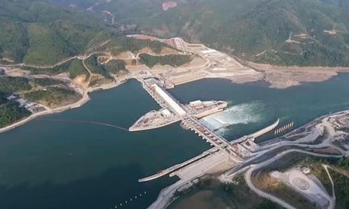 Đập Xayaburi ở Lào. Ảnh: Laotian Times.