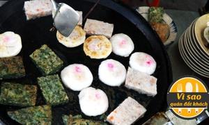 Xe bánh hẹ gốc Hoa bán 300 cái trong 2 tiếng