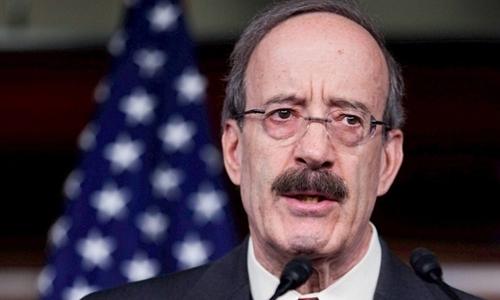 Chủ tịch Ủy ban Đối ngoại Hạ viện MỹEliot L. Engel. Ảnh: AFP.