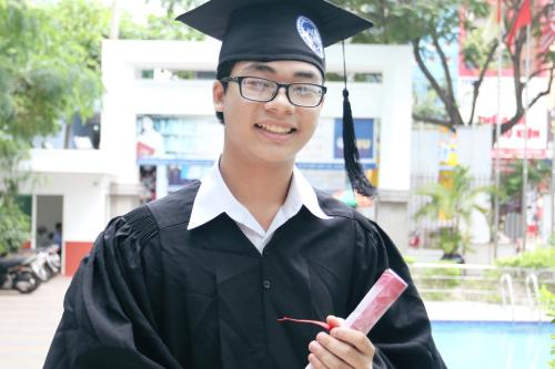 Lai Lâm Minh Khoa - Cựu học sinh Trường Quốc tế Á Châu.