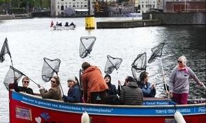 Du lịch dọn rác hút khách ở Amsterdam