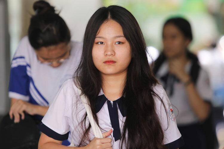 Thí sinh dự thi THPT quốc gia 2019. Ảnh: Quỳnh Trần.