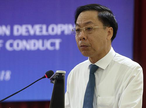 Phó tổng thanh tra Chính phủ Trần Ngọc Liêm. Ảnh: Bá Đô