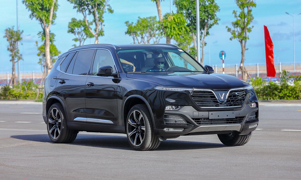 VinFast Lux SA2.0 - 'bản Việt hóa' của BMW X5