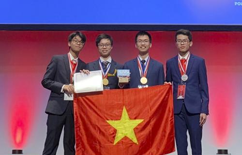 Các thí sinh dự thi Olympic Hóa học quốc tế năm 2019. Ảnh: Cục Quản lý chất lượng