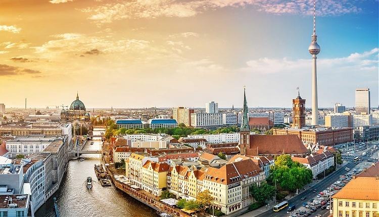 Thủ đô Berlin, Đức. Ảnh:globalchampionsleague