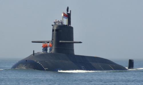 Tàu ngầm Type-039A Trung Quốc, nền tảng phát triển dòng S26T. Ảnh: Sina.