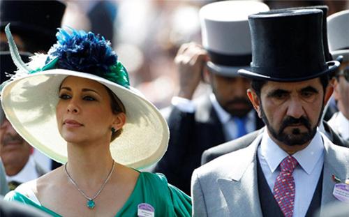 Công chúa Haya và Thủ tướng Mohammed