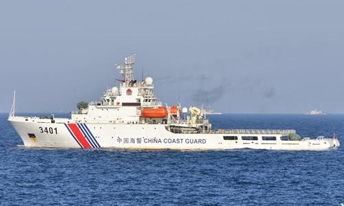 Một tàu hải cảnh của Trung Quốc. Ảnh: DefPost.