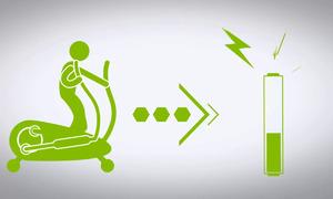 Máy tập gym 'biến' chuyển động thành điện ở Mỹ