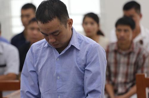 Bị cáo Nam tại phiên tòa sơ thẩm.