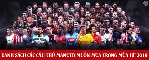 Rất nhiều cầu thủ được MU liên hệ.