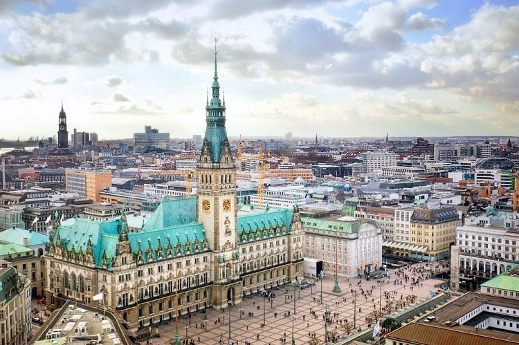 Thành phố Hamburg, Đức. Ảnh:Goway Travel