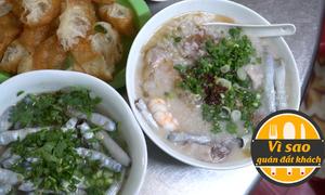 Quán cháo sá sùng gốc Hoa ở Sài Gòn thu trăm triệu mỗi tháng
