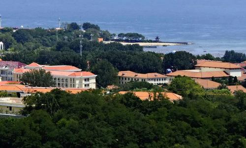 Cảnh quan khu nghỉ dưỡng Bắc Đới Hà. Ảnh: SCMP.
