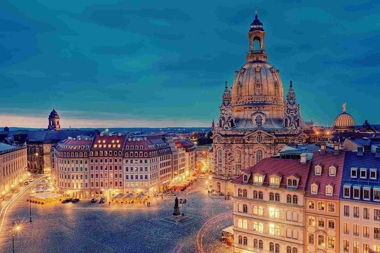 Thành phố Dresden, Đức. Ảnh:TripSavvy