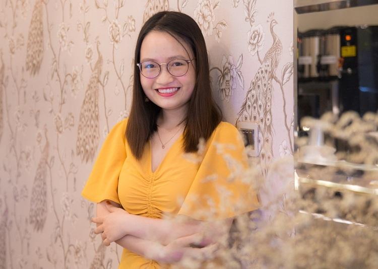 Nguyễn Thị Ngọc Lan, tân sinh viên Đại học Bristol, Anh. Ảnh: Thanh Hằng