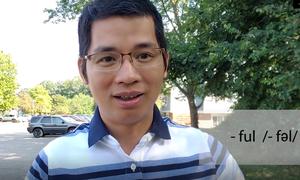 Cách phát âm đuôi 'ful' trong tiếng Anh - Mỹ