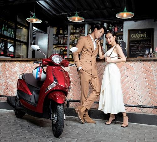 Dấu ấn phong cách riêng phù hợp nữ giới của Yamaha Latte - 2