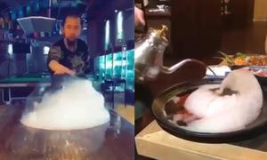 Những kỹ năng làm bếp 'siêu phàm' khiến người xem trầm trồ