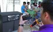 Hàng xóm karaoke ầm à ngay tá» dân phá» những không thấy ai xá» lý
