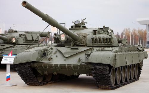Xe tăng T-72A được trưng bày trong bảo tàng của Nga. Ảnh: Vitaly Kuzmin.