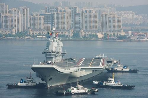 Tàu sân bay Type 001A của Trung Quốc. Ảnh: ImagineChina.