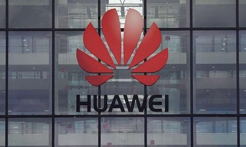 Một trụ sởcủa công ty viễn thông Trung Quốc Huawei. Ảnh: AFP.