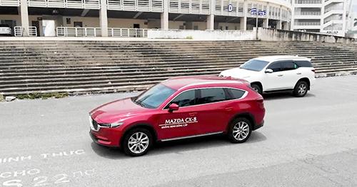 Mazda CX-8, Toyota Fortuner - 'Kẻ tám lạng, người nửa cân'