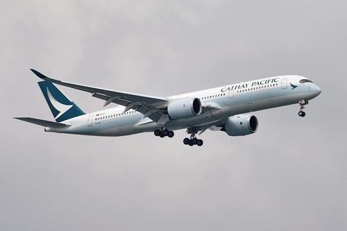 Một máy bay của hãng hàng không Hong Kong Cathay Pacific. Ảnh:Reuters.