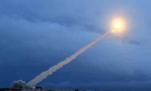 Tên lửa Burevestnik phóng thử hồi đầu năm 2018. Ảnh: Bộ Quốc phòng Nga.