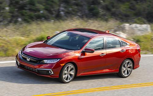 Honda Civic tại Mỹ.