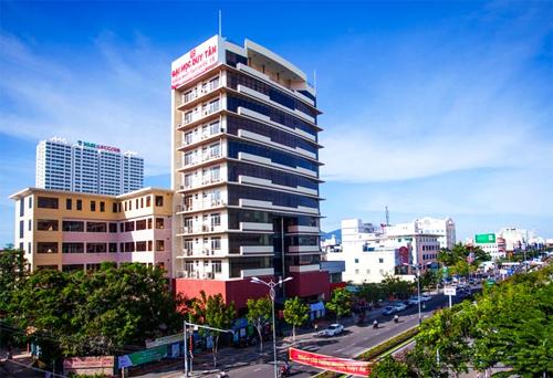 Trụ sở Đại học Duy Tân tại số 254 Nguyễn Văn Linh, TP Đà Nẵng.