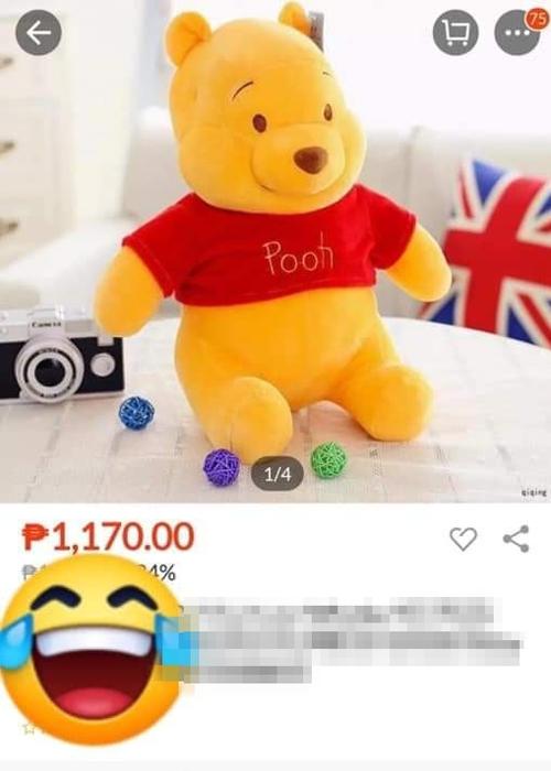 Không tiếc tiền chi ra để mua gấu bông...