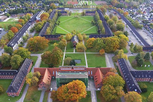 Khuôn viên Đại học Jacobs (Đức). Ảnh: Smapse Education