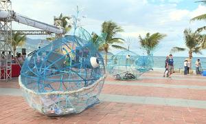 Đà Nẵng trang bị thêm 7 mô hình cá 'ăn' rác thải nhựa