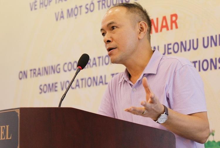 Ông Đỗ Văn Giang tại tòa đàm ngày 13/8. Ảnh: Thanh Hằng